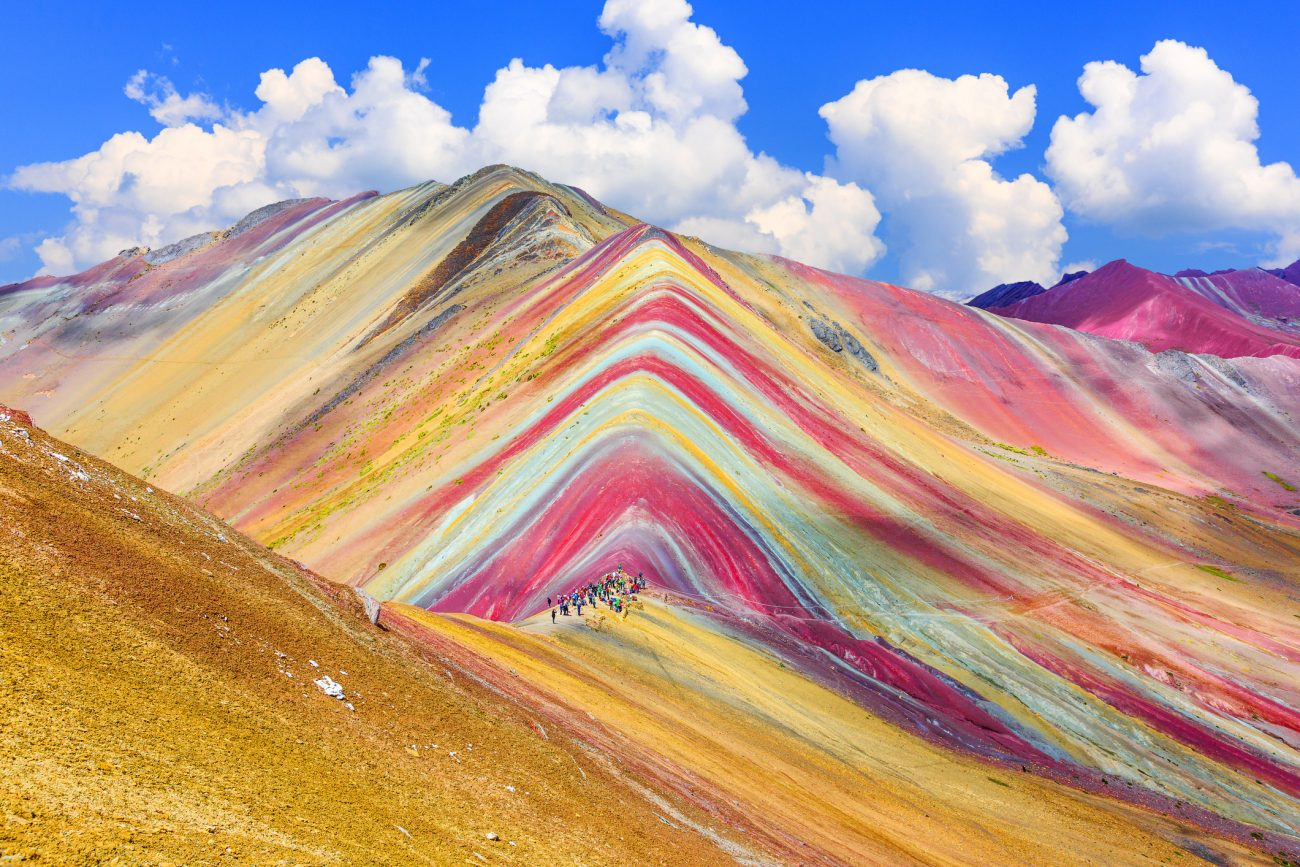Duhové hory Vinicunca