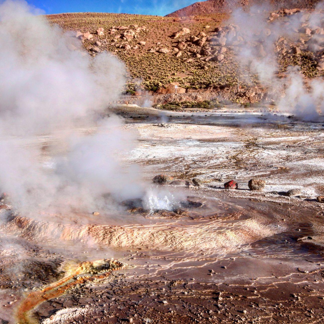 Geysers del tatio, Atacama, Chile, Chile-unsplash