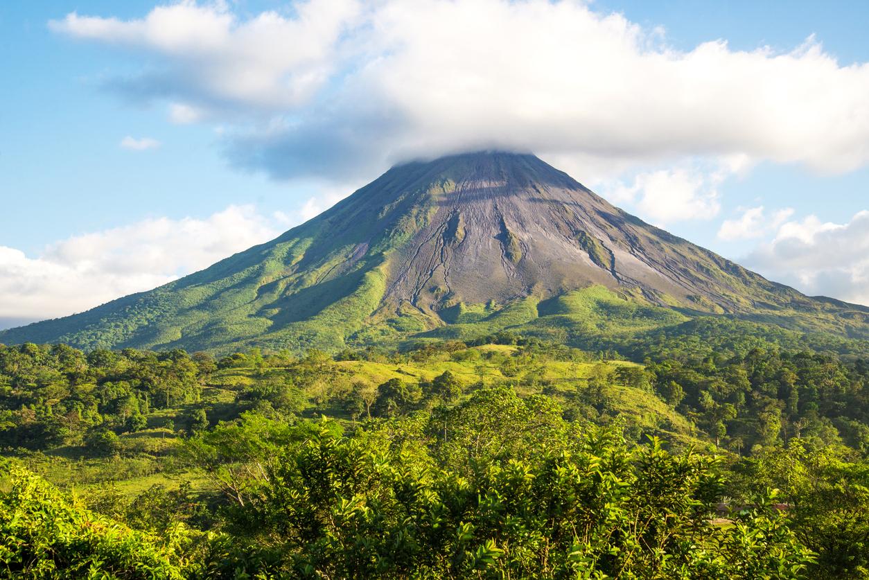 Arenal volcano. Costa Rica.
